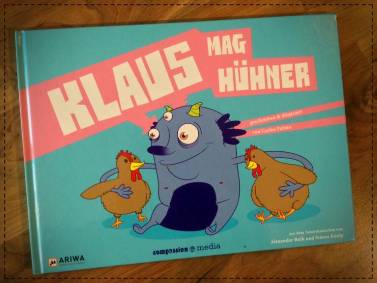 Cover: Klaus mag Hühner von Carlos Patiño