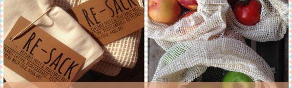 Plastikfrei einkaufen mit Re-Sacks – mit Verlosung!