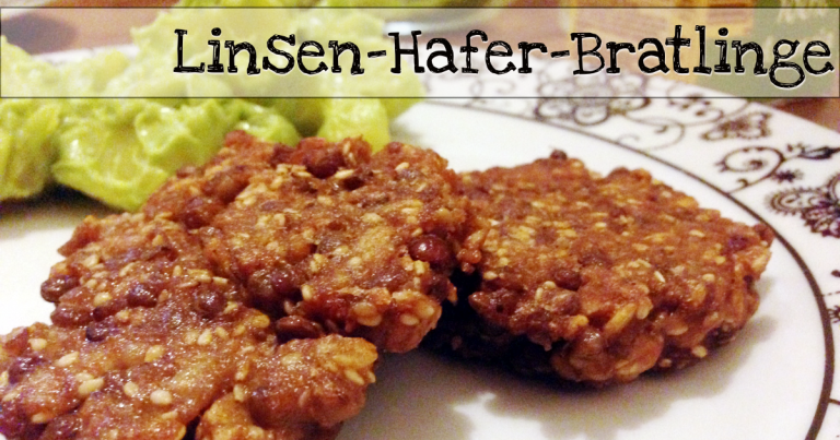 Linsen-Hafer-Bratlinge vegan