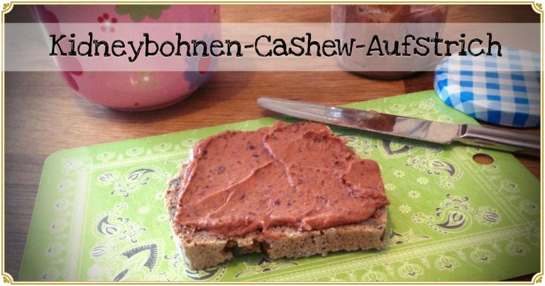 veganer Kidneybohnen-cashew-aufstrich