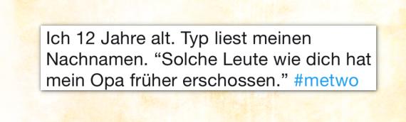 #MeTwo – Rassismus in Deutschland